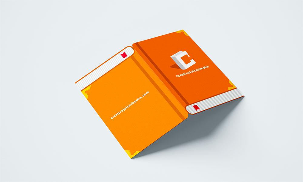 publication house branding name card business card design