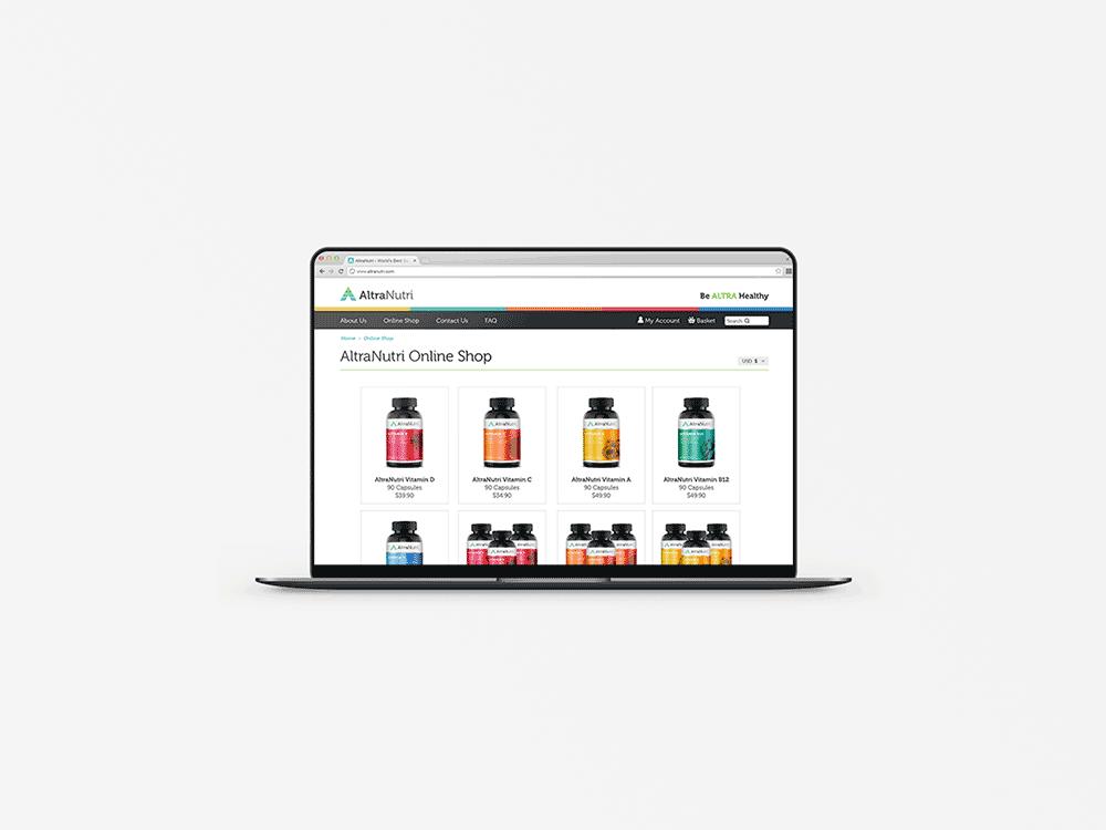 altranutri-website-design