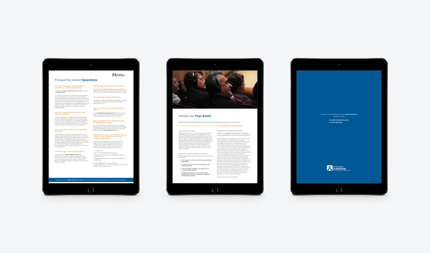 e-book white paper brochure flyer digital mobile ipad tablet mockup design