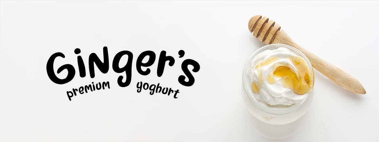 yogurt logo design